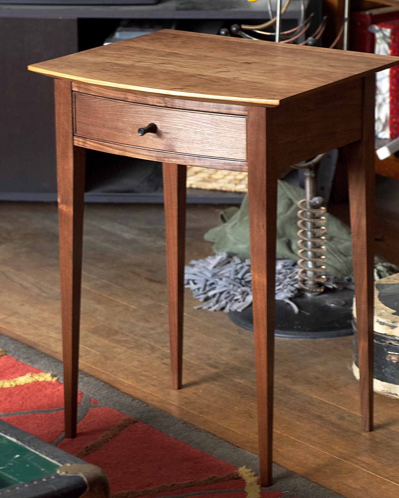 Shaker-style side table